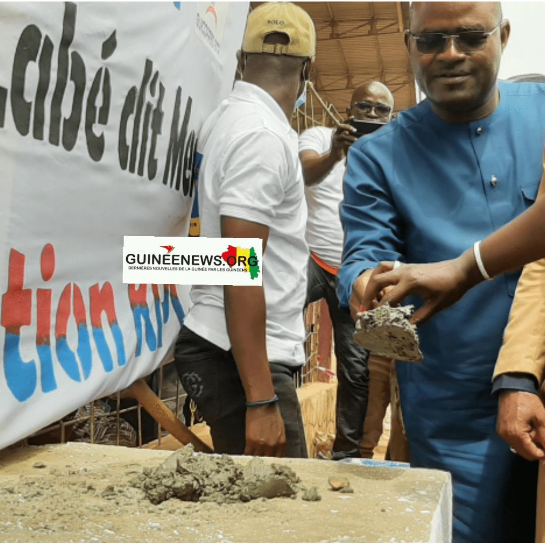 Labé  KPC lance les travaux de rénovation du stade régional(guineenews.org)