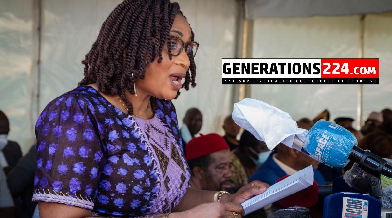 Les premiers mots de Sona Konaté, après son installation au poste de Ministre de la culture(génération224.com)