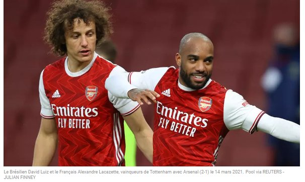 (rfi.fr)Premier League Arsenal s'offre le derby sans Aubameyang, sanctionné par Arteta(rfi.fr)
