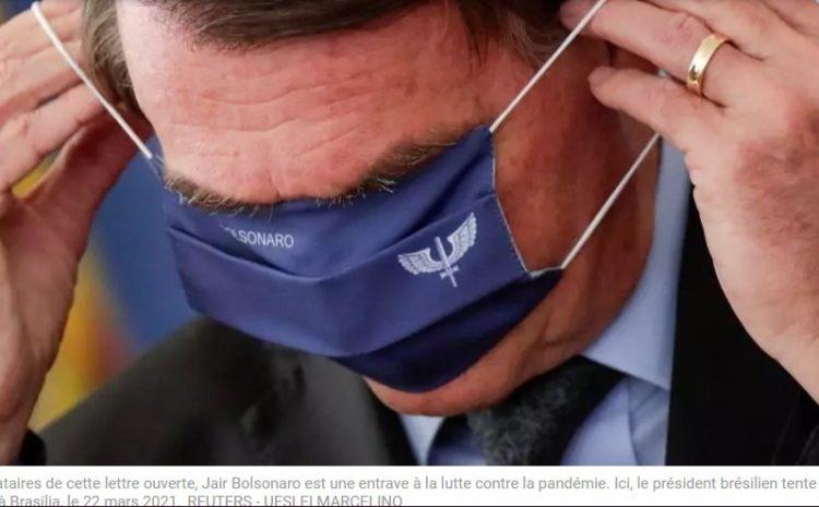 (rfi.fr)Brésil des centaines de banquiers et économistes attaquent Bolsonaro pour sa gestion du Covid-19(rfi.fr)