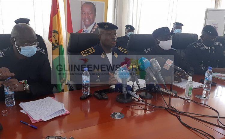 Guinée  la police nationale dresse le bilan de ses activités en 2020(guineenews.org)