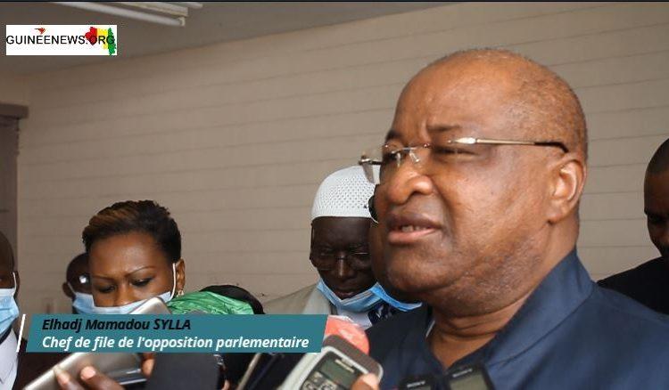 Mamadou Sylla, chef de file de l'opposition  Les limites d'un géant de circonstance(guineenews.org)