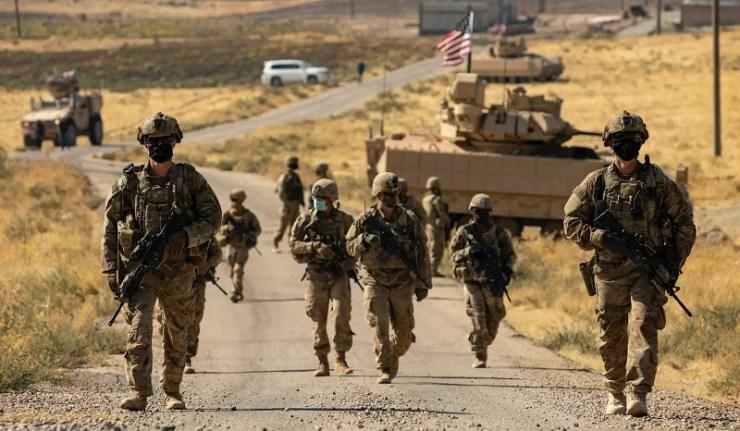 (Reseauinternational)Les Américains entrainent les FDS pour rester encore en Syrie et en Irak