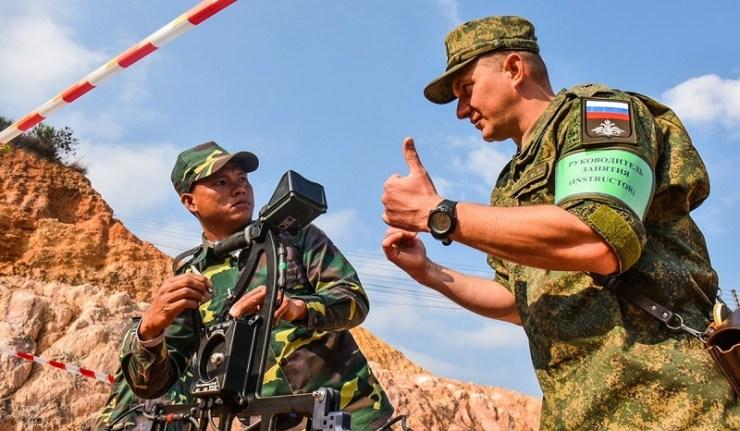 (Reseauinternational)La Russie a commencé à construire une base aérienne militaire au Laos
