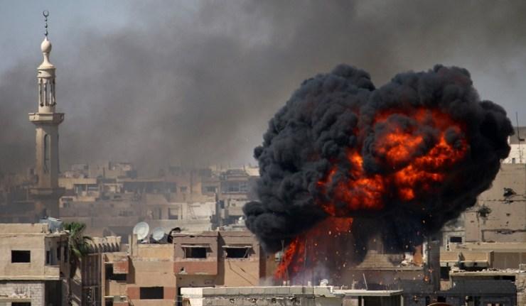 (Reseauinternational)Syrie – Les blindés dans la guerre urbaine extrême