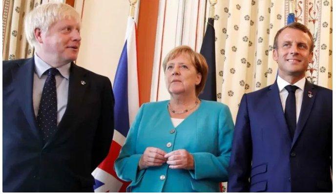 (Reseauinternational)Macron, Merkel et Johnson appellent formellement à la dictature sanitaire globale