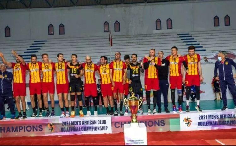 (rfi.fr)Volley l'Espérance Tunis championne d'Afrique des clubs masculins