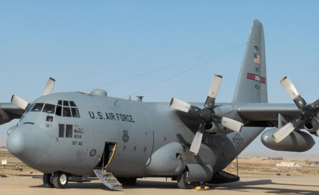 (Observateurcontinantal)Des avions de transport militaires de l'Otan arrivés en Ukraine