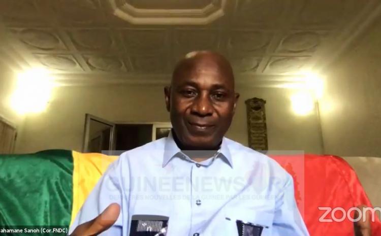 (Guineenews.org)Violation des droits de l'homme en Guinée  le FNDC demande aux États-Unis des sanctions ciblées