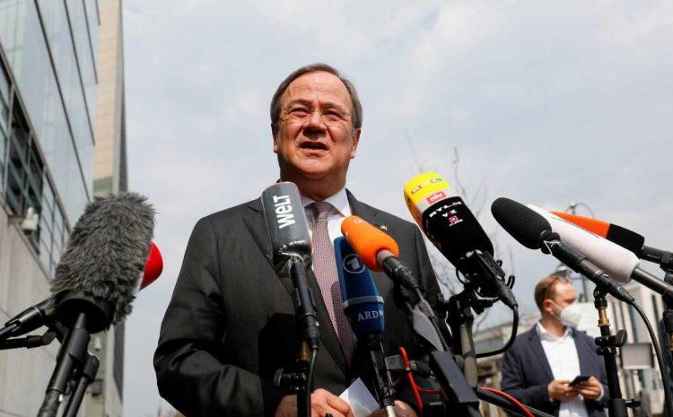 (Monde.fr)Armin Laschet, candidat des conservateurs allemands à la chancellerie.