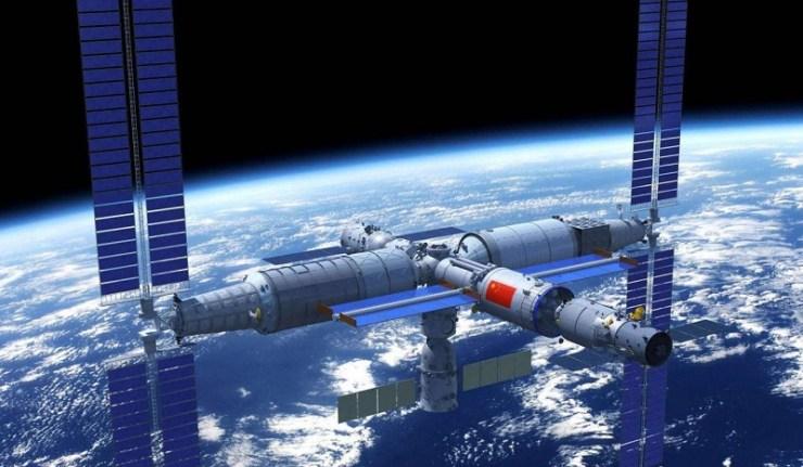 (rReseauinternational)La Chine s'apprête à lancer le premier module de sa station spatiale