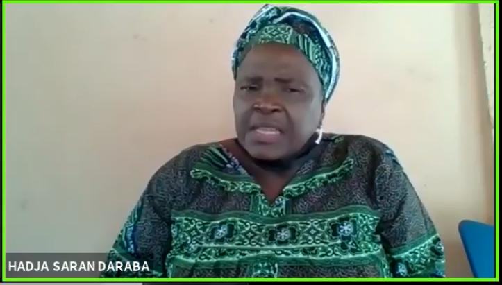 (Guineenews.org)Première Guinéenne candidate pour la présidence de la République,  Hadja Saran Daraba dégage ses motivations
