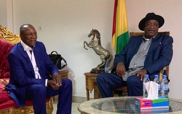(Guineenews.org)Alpha Condé – Mamadou Sylla  L'argent, le nerf de la guerre…