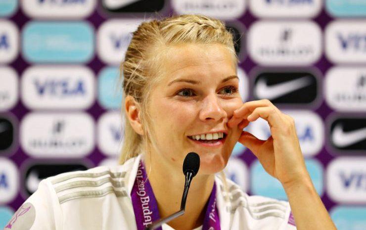(Forbes.fr)Nike Vers L'égalité Salariale Avec La Footballeuse Ada Hegerberg!