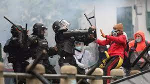 (rfi.fr)Colombie: la grogne des manifestants contre la réforme fiscale s'intensifie.