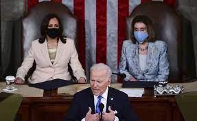 (rfi.fr)Joe Biden devant le Congrès: «Il a veillé à ne pas parler qu'aux démocrates».