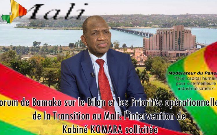(Guineenews)Bilan et priorités opérationnelles de la transition au Mali : l'intervention de Komara sollicitée