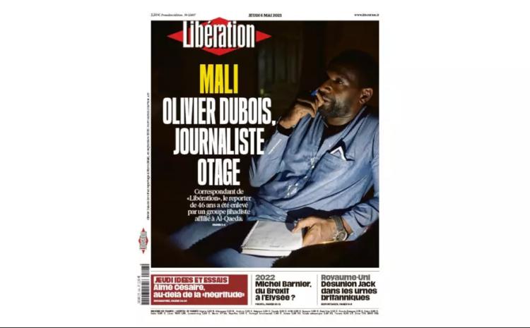 (rfi.fr) À la Une: l'enlèvement du journaliste Olivier Dubois