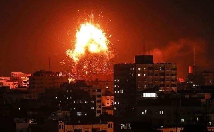 (observateurcontinental)Le début de la campagne à Gaza: «L'étincelle dans le baril explosif du Moyen-Orient»