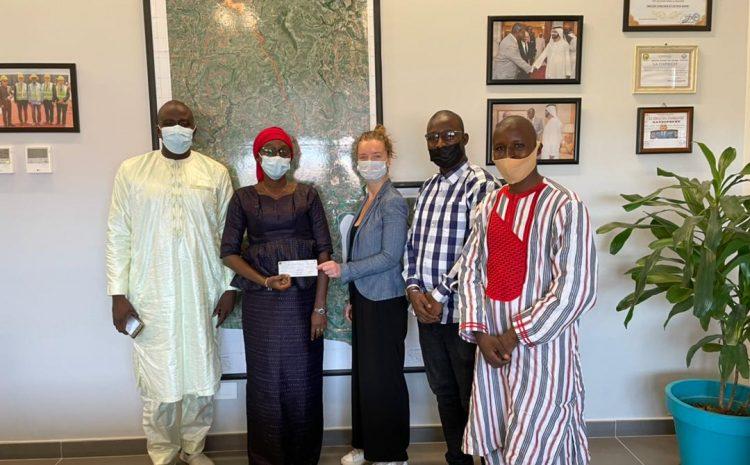 (Guineenews)La Fondation Wazni soutient un projet de reboisement mené par l'association « Dinguiraye Réflexion et Action »
