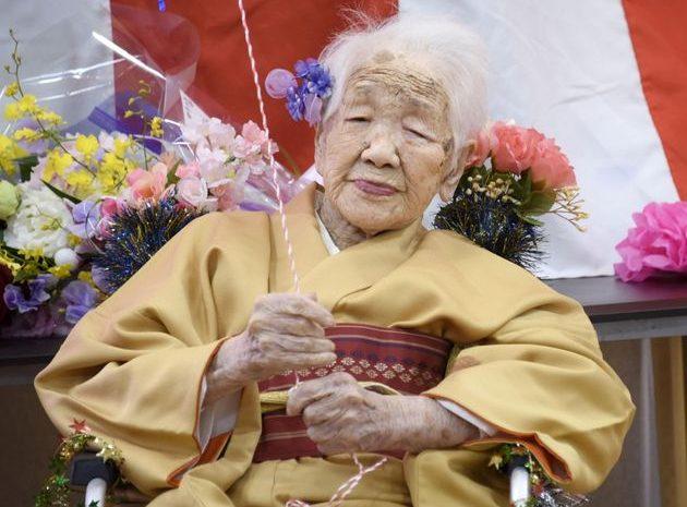 (HuffSpot)À cause du Covid-19 au Japon, la doyenne de l'humanité renonce au relais de la flamme olympique