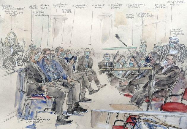 (HuffPost)Au procès Bygmalion, une première semaine de grand déballage