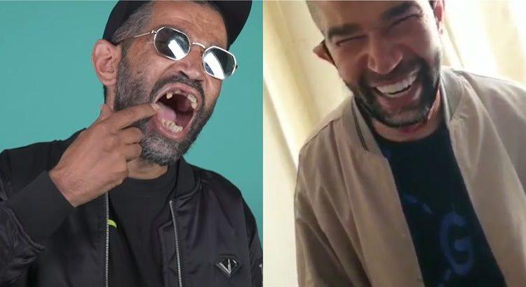 (le moov)Demon One tout sourire depuis qu'il s'est fait refaire les dents !