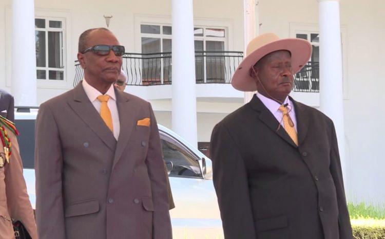 (Guineenews)Coopération : les raisons de la visite du président Alpha Condé à Kampala
