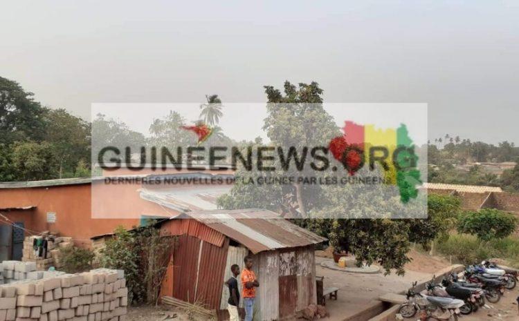 (Guineenews.org) Séisme à Bangouya : par peur d'une réplique, les habitants dorment à la belle étoile (maire)