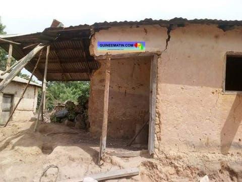 (Guineematin.com)Séisme à Bangouyah (Kindia): les habitants de Tenè Warkhalan dorment à la belle étoile
