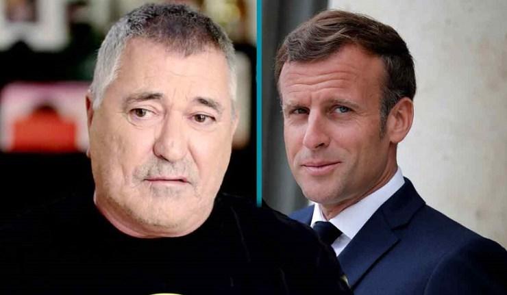 (Reseauinternational)Bigard se dieudonnise, Macron se peopolise (et se prend des gifles)