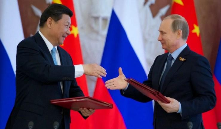(Reseauinternational)Les cartographes chinois et russes tracent l'ordre post-unilatéral