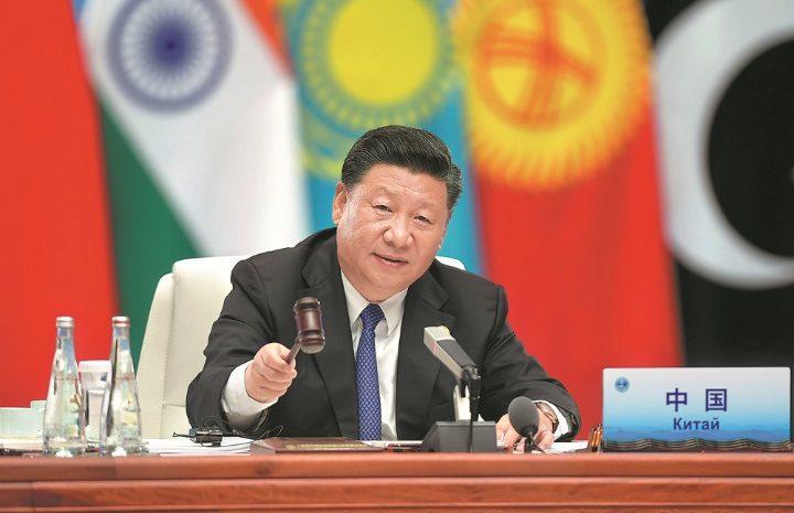 (observateurcontinental)OCS: le leader chinois mise sur la diplomatie populaire
