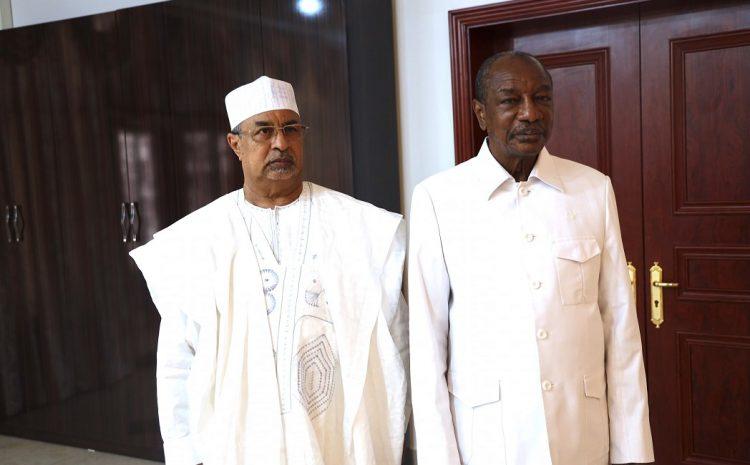 (Guineenews.org)Mahamat Saleh des Nations Unies en séjour à Conakry rencontre Fodé Bangoura pour le dialogue politique