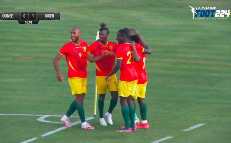 (Guineenews.org)Turquie : la Guinée finit sa campagne par une victoire sur le Niger