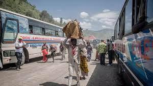 (rfi.fr)Éruption du volcan Nyiragongo: en RDC, les populations autorisées à rentrer à Goma.
