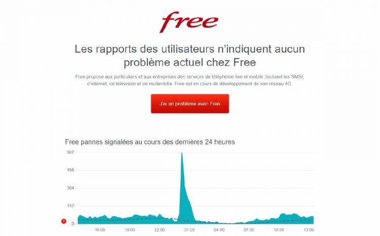 (phonandroid.com)Free : le réseau tombe en panne toutes les nuits depuis plusieurs jours sans raison apparente