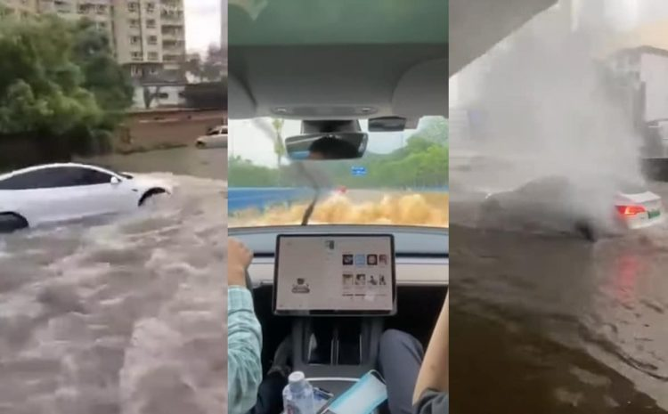 (phonandroid.com)La Tesla Model 3 peut se transformer en bateau, la preuve en vidéo