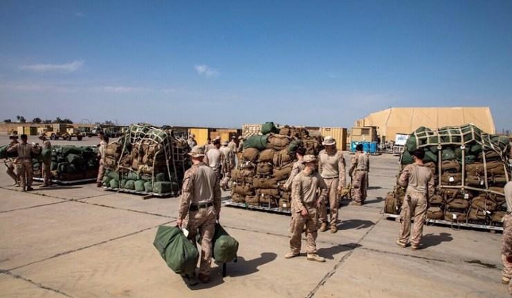 (Reseauinternational)40 000 soldats USA/OTAN pris en otage à l'aéroport de Kaboul