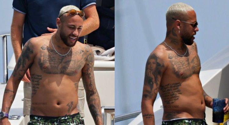 (le moov)Internet se moque de la prise de poids de Neymar