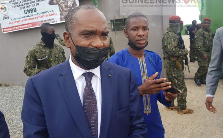 (Guineenews.org)Alpha Barry, le ministre des AE du Burkina: « nous avons rencontré le président Alpha Condé. Il va bien »