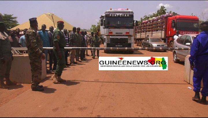 (Guineenews.org)Ouverture de la frontière guinéo-malienne : un soulagement pour usagers et douaniers