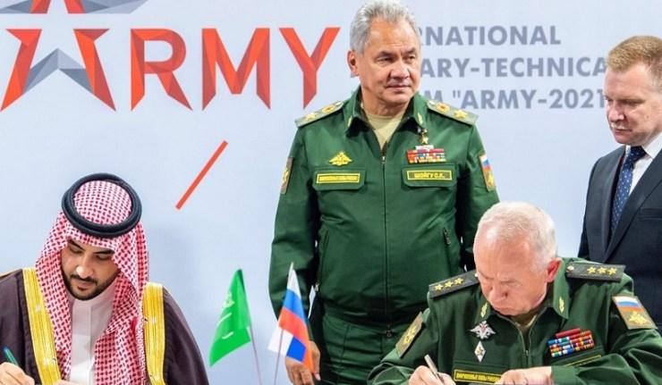 (Reseauinternational)L'Arabie Saoudite signe un accord de coopération militaire avec la Russie