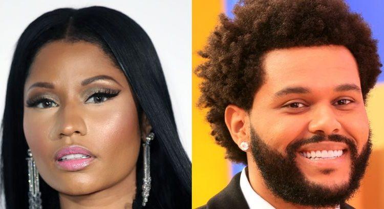 (mouv.fr)Nicki Minaj en discussion avec le label de The Weeknd