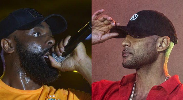 """(mouv.fr)Kaaris rappe """"Kalash"""" en showcase et se fait clasher par Booba"""
