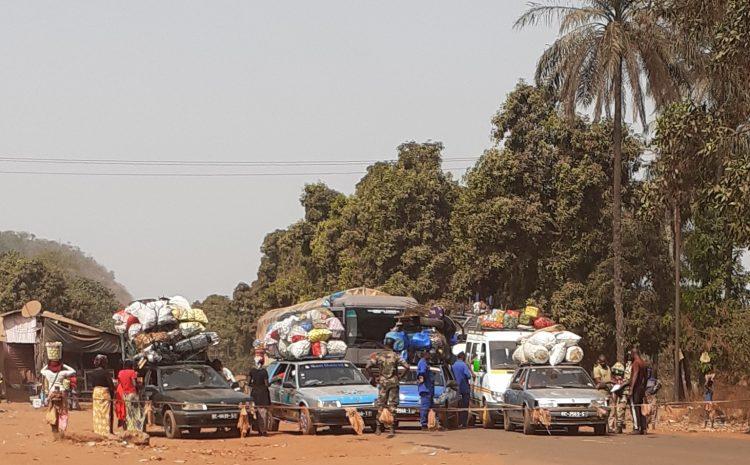 (Guineenews.org)Barrages routiers : encore et toujours cette pomme de discorde entre agents et transporteurs