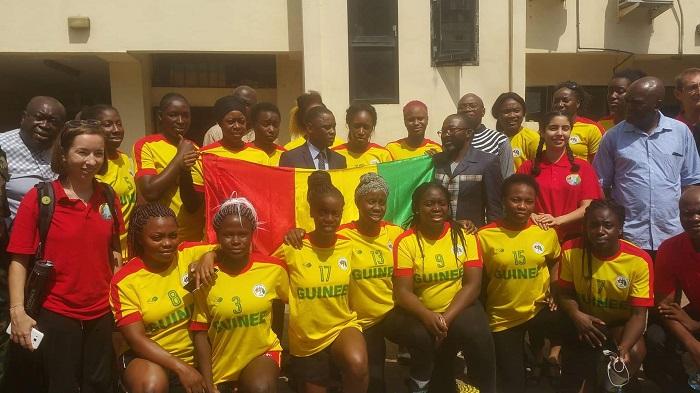 (Guineenews.org)Handball féminin : les CHAN junior et cadets prévus à Conakry reportés sine die