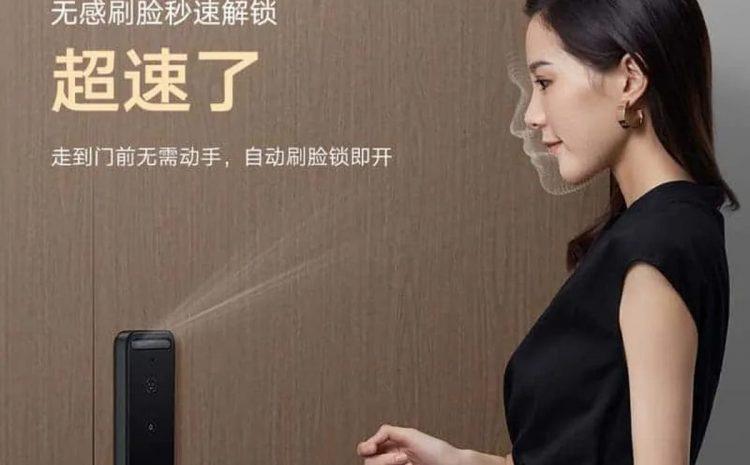 (phonandroid.com)Xiaomi lance Smart Door Lock X, une serrure connectée avec reconnaissance faciale