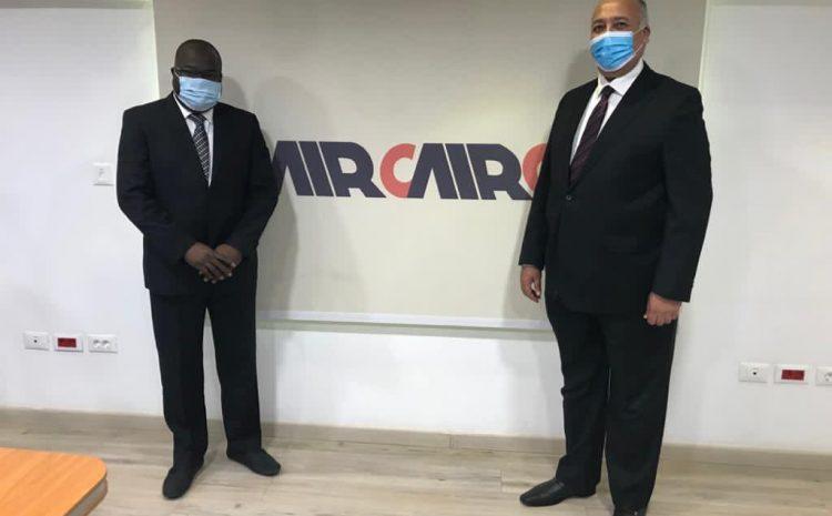 (Guineenews.org)Transport aérien  Air Cairo va bientôt déployer ses ailes sur la Guinée (MAE)(guineenews.org)