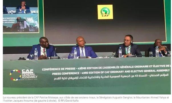 (rfi.fr)Foot africain «unité», le nouveau mot d'ordre à la CAF après l'élection de Motsepe(rfi.fr)